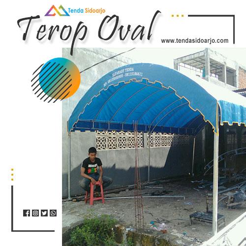jual tenda terop oval murah kalimantan